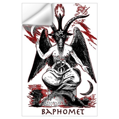 Baphomet Wall Decal