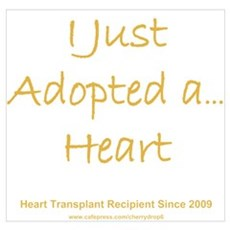 2009 Adopted Heart Transplant Poster