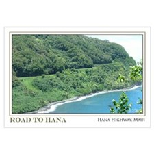 Road to Hana Curves (11x17)