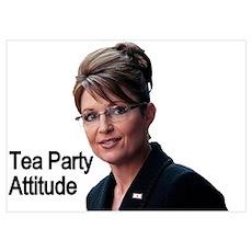 Sarah Palin Attitude Poster