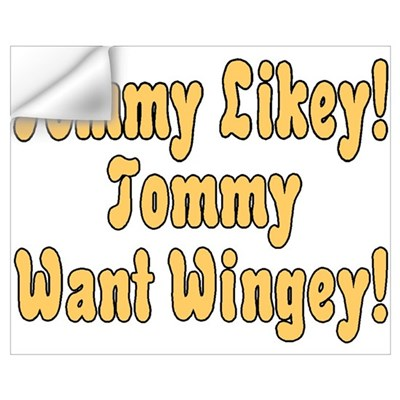 Tommy Likey Wall Decal