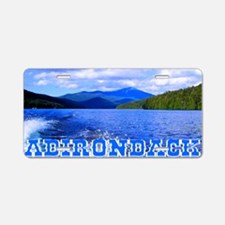 Adirondack Aluminum License Plate