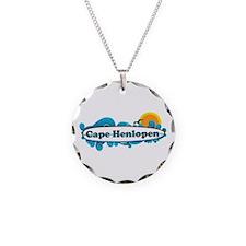 Cape Henlopen DE - Surf Design Necklace