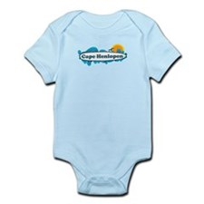Cape Henlopen DE - Surf Design Infant Bodysuit