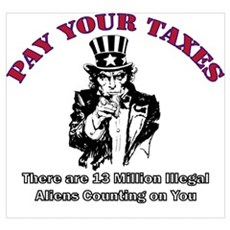 Pay Your Taxes Canvas Art