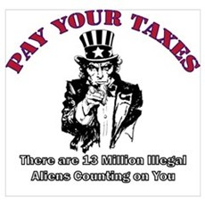 Pay Your Taxes Poster