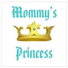 Mommy's Princess Canvas Art