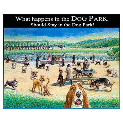 A Day at the Dog Park Poster