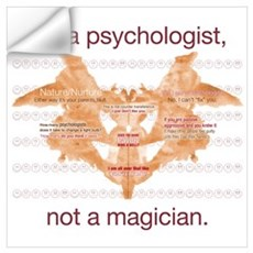 Im a psychologist not a magician Wall Decal