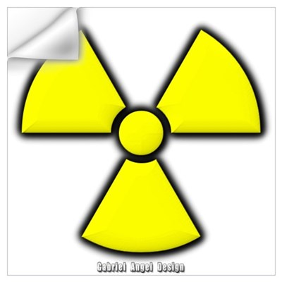 Radioactivity Wall Decal