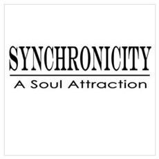 Tolle Synchronicity Poster