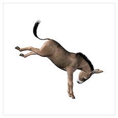 Kicking Donkey Poster