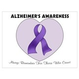 Alzheimers Wrapped Canvas Art