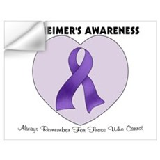 Alzheimer's Awareness Wall Decal