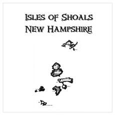 Isles of Shoals NH Poster