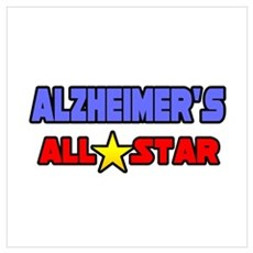"""Alzheimer's All Star"" Poster"