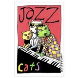 Cool cats Wrapped Canvas Art