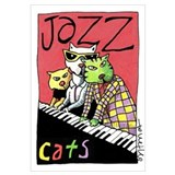 Cool cats Framed Prints