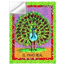 El Pavo Real Wall Decal
