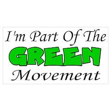 Green Movement Poster