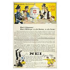 Swiss 1908 Pro-Absinthe Propaganda Poster
