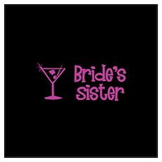 Bride's Sister - Dark Pink Ma Poster