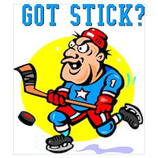 Hocky Cafe - Got Stick? Poster
