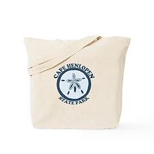 Cape Henlopen DE - Sand Dollar Design Tote Bag