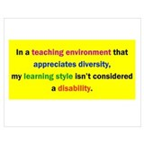 Learning disability Posters