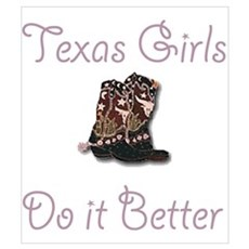 100% Texan Poster