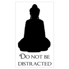 Do Not Be Distracted Framed Print