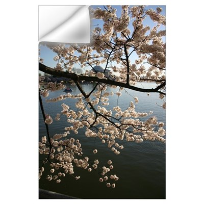 Cherry Blossoms Washington DC Wall Decal
