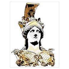 ATHENA PALLAS Poster