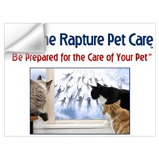 Cats at Window Rapture Gear Wall Decal
