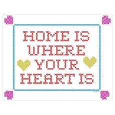 Home is... Poster