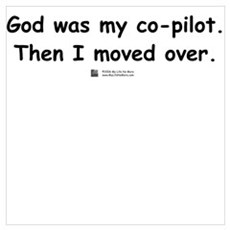 God was my co-pilot Poster