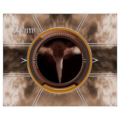 Zephyr 16 X 20 Poster
