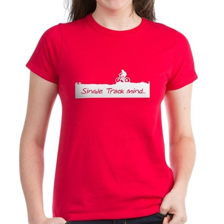 Single Track Mind Women's Dark T-Shirt