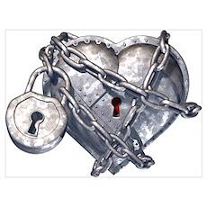 Locked Heart Poster