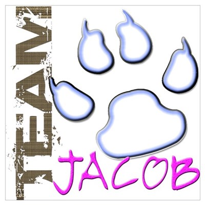 Team Jacob New Moon Movie Poster