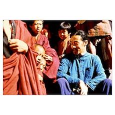 KITARO Tibet Poster