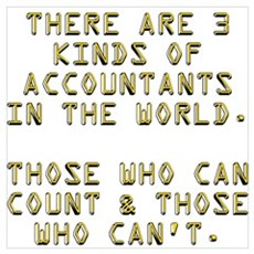 3 Accountants Canvas Art