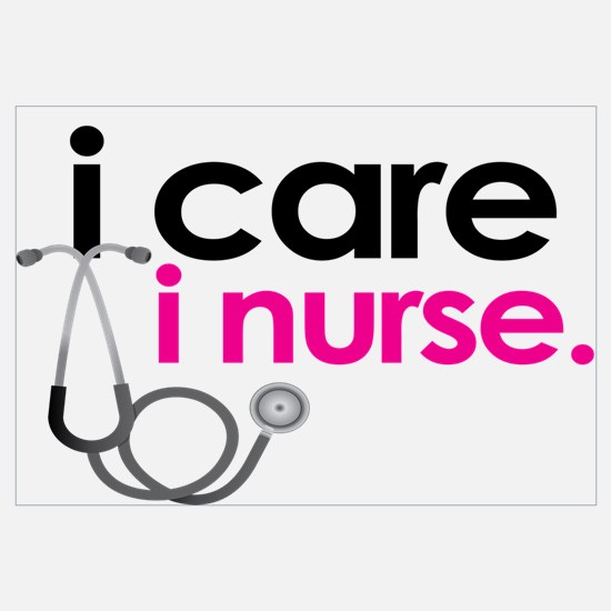 i care i nurse pink