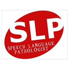 Speech Language Pathologist Canvas Art