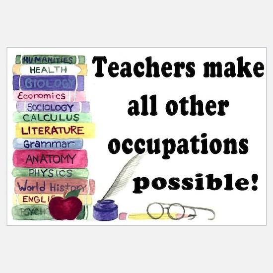 """""""Teacher Occupations"""""""