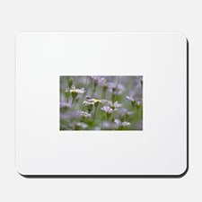 White Flowers999 Mousepad