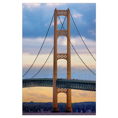 Mackinac Bridge #1083 Poster