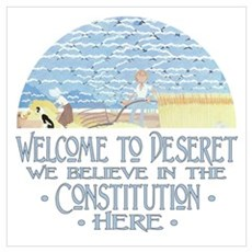 Welcome to Deseret Poster
