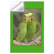 Parakeet Gifts Wall Decal