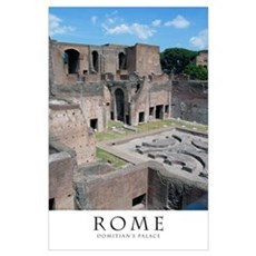 Domitian's Palace (inside) Poster